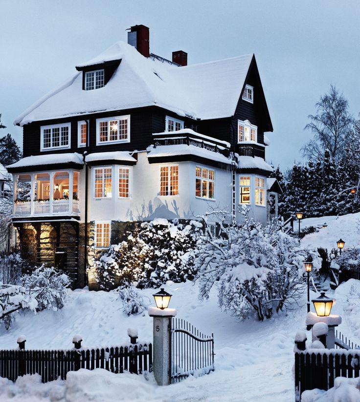 Beautiful Snow House