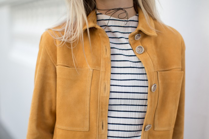 Fashion Me Now | Mustard Suede & Stripes_-14