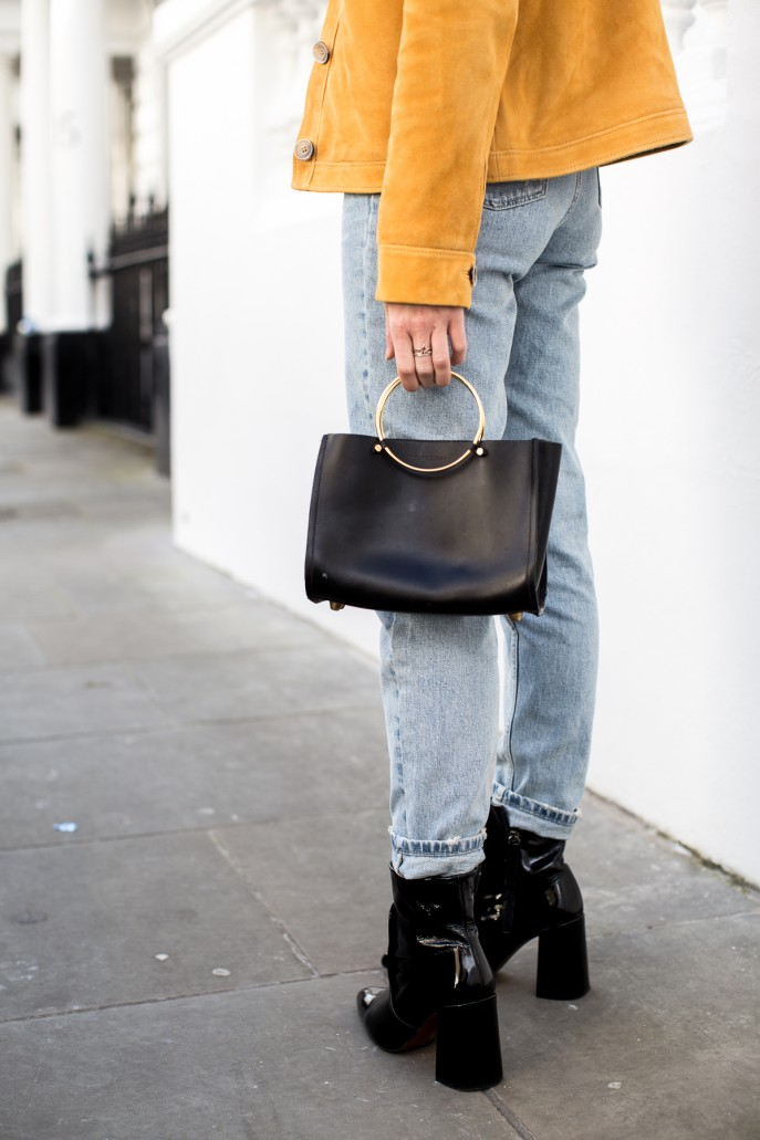 Fashion Me Now | Mustard Suede & Stripes_-16